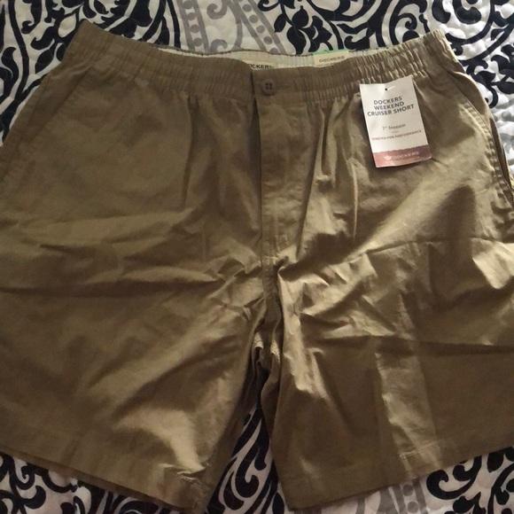 318cf596a7 Dockers Shorts | Mens Weekend Cruiser Short Khaki | Poshmark